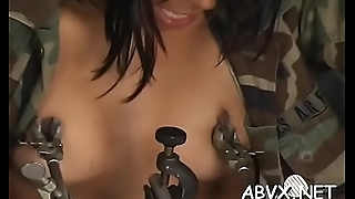 Flaming nude spanking and amateur outlandish bondage porn
