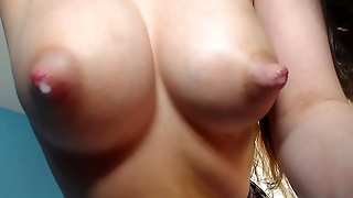 Tits full of fat sweet milk